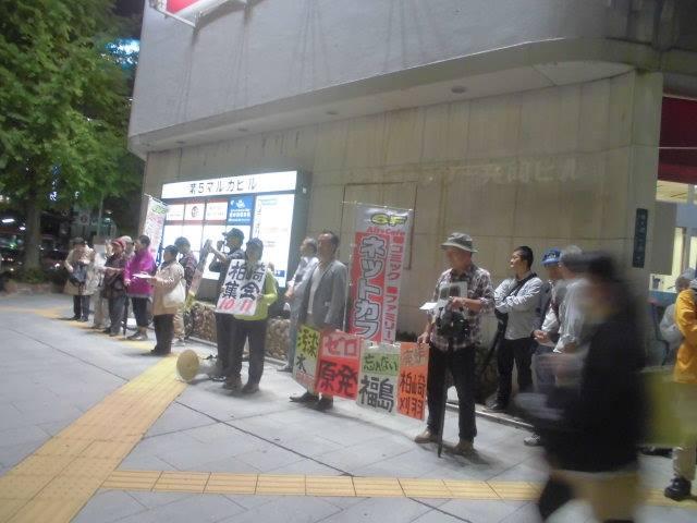 【新潟】核兵器廃絶国際デー宣伝 2015-09-26 002