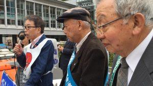 160427_渋谷ハチ公前で語る西山さん