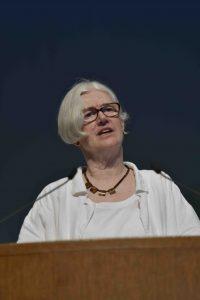 イギリス核軍縮キャンペーン(CND)のキャロル・ターナーさん