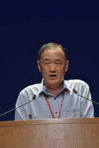 韓国原爆被害者協会のク・ジョンソン副会長