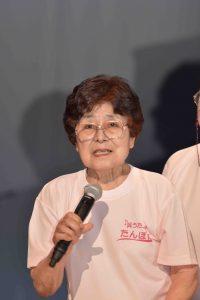 広島被爆者の松本秀子さん