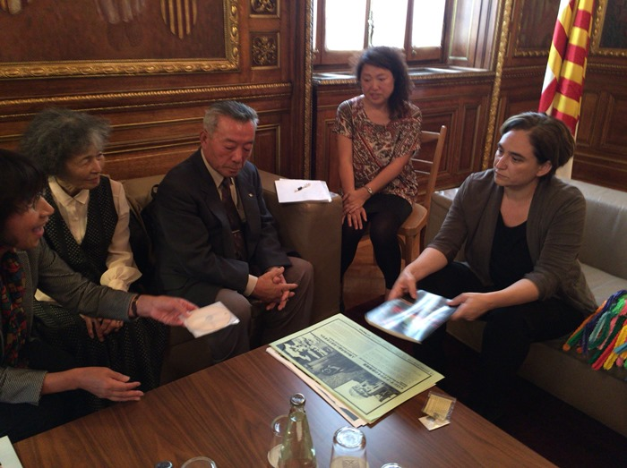 Meeting with Mayor Ada Colau of Barcelona City