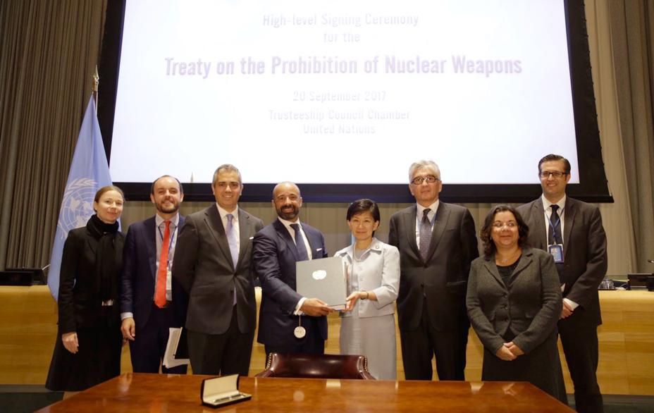 核兵器禁止条約】新たに2カ国が...
